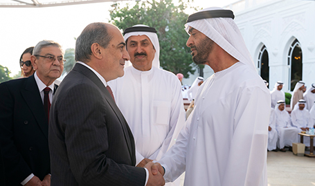 His Highness Sheikh Mohamed bin Zayed receives President of Cypriot Parliament