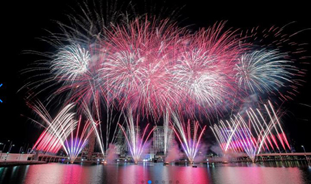 New Year's Eve in Abu Dhabi 2020