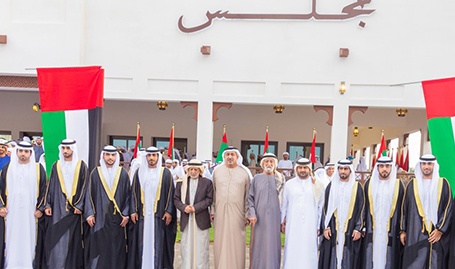 H.H. Sheikh Khalid bin Zayed attends mass wedding in Al Ain