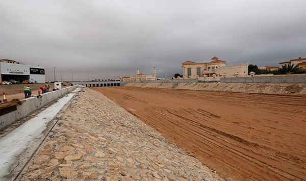 Musanada, Al Ain Municipality commence AED119.3 million rainwater streams project in 3 valleys