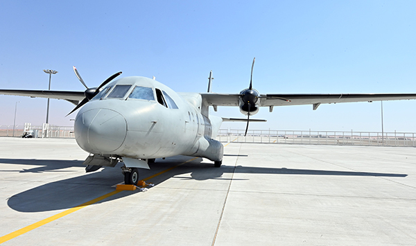 AMMROC marks first aircraft delivery from new state-of-the-art Al Ain MRO Facility
