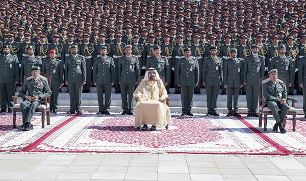 His Highness Sheikh Mohammed bin Rashid attends Zayed II Military College graduation
